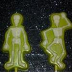Skeleton Halloween Solid Chocolate ..